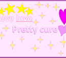 Love love pretty cure