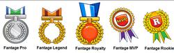 Fantage Medals