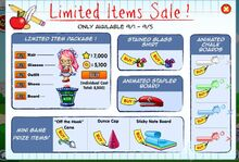 Fantage-school-limited-items-sale
