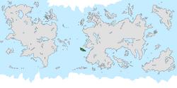 Location of Kerwan on the world map.
