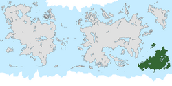 Location of Lakadamia on the world map.
