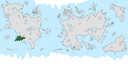 Location of Angostura on the world map.