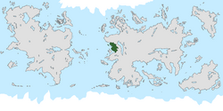 Location of Cercasia on the world map.