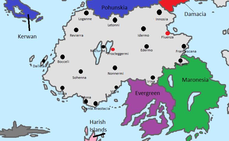 Assasynia City Map