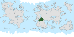Location of Pohunskia on the world map.
