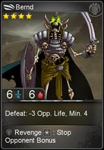 Bernd card level 4