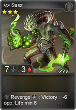Sasz card level 3