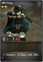 Alisa card level 2