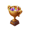 Bronze Candy Trophy