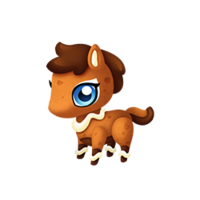 Gingerbread Pony Baby
