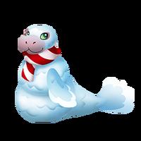 Snowmanatee Adult