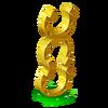 Best Luck Statue