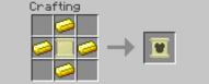 Gold Armor Recipe