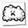 Icon Sad Little Cloud