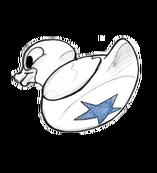 Blue star duck