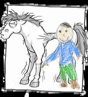 Happy camper horse v2