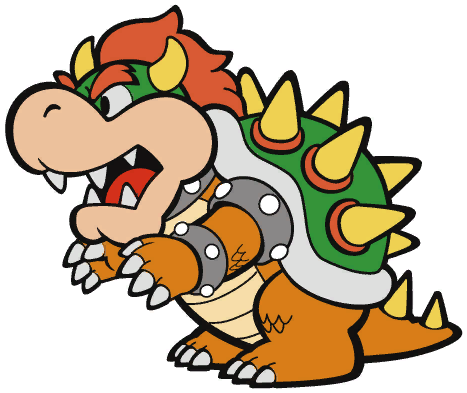 File:Paper Bowser.png
