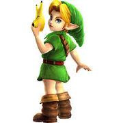 Young Link Smash Bros
