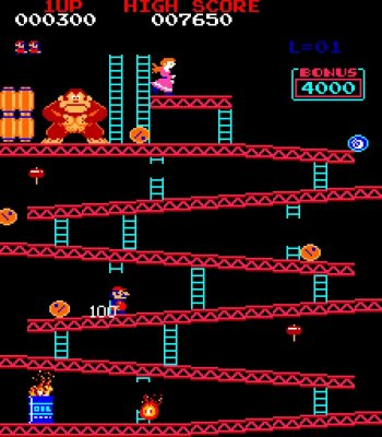#Mario's debut as #Jumpman! #DonkeyKong