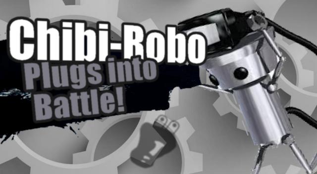 Fichier:Ssb4 newcomer chibi robo plugs into battle by genesismasterda-d7nja22.png
