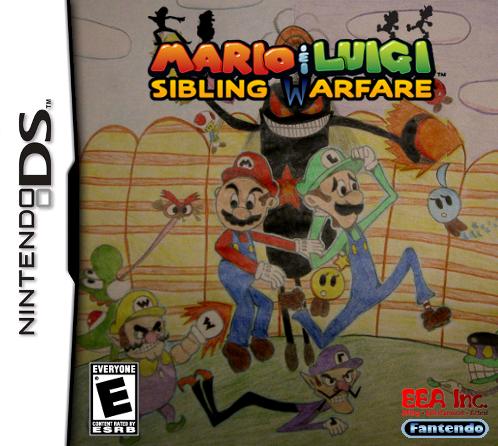 File:Mario & Luigi Sibling Warfare New Boxart.png