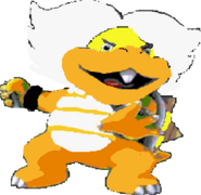 Ludwig von Koopa (SMW sprite colors)- New Super Mario Bros. Wii