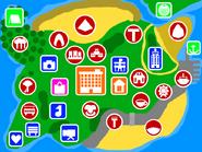 Tomodachi New Life Map