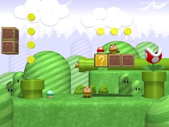 Mushroom Kingdom 3D by Kritter5x