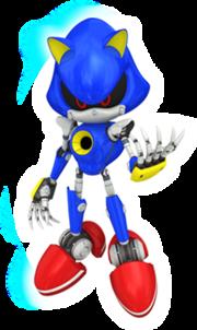 Sonic-Free-Riders-Metal-Sonic-artwork