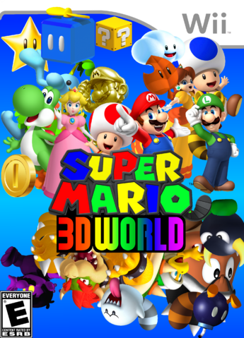 File:Super Mario 3D World The Real Final Boxart.png