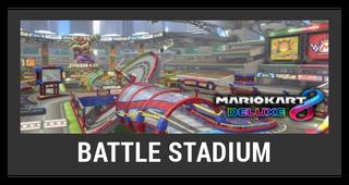 ACL -- Super Smash Bros. Switch stage box - Battle Stadium