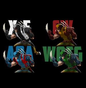 Wolverine palette
