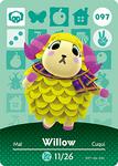 Ac amiibo card willow