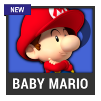 ACL -- Super Smash Bros. Switch character box - Baby Mario