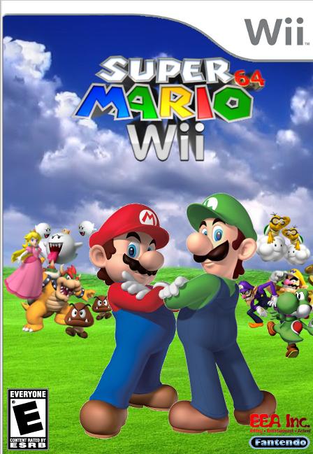 Super Mario 64 Wii Fantendo Nintendo Fanon Wiki Fandom Powered By Wikia