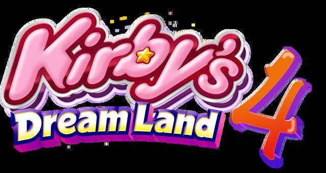 File:Kirby 4 Logo.png