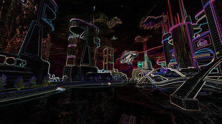 Neon City FOL6