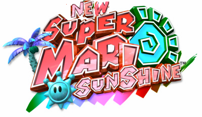 File:New Super Mario Sunshine Logo.png