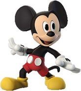 INFINITY Mickey Mouse render