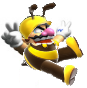 File:Bee Wario.png