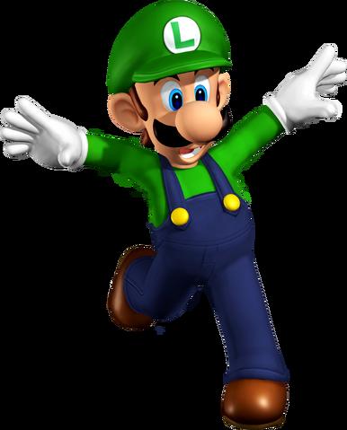 File:Luigi - Super Mario 64 DS.png