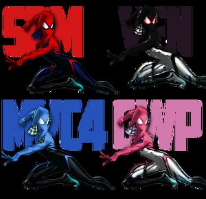 Spidergwen palette