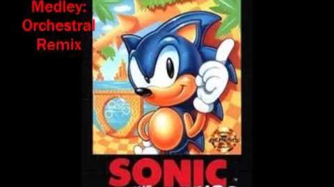 Sonic The Hedgehog (Mega Drive Sega Genesis) - Credits Medley Orchestral Remix
