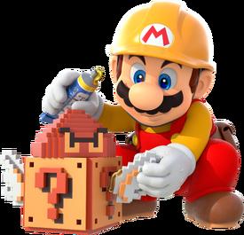 Super Mario Maker - Mario Artwork 01 v2