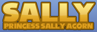 Princess sally acorn logo