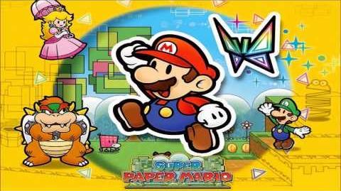 Evil King Bowser Here (Super Paper Mario)