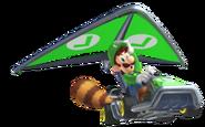 MK7 Tanooki Luigi