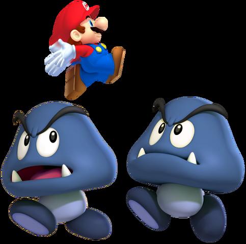 File:2 Cave Goombas & Mini Mario.png