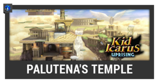 ACL -- Super Smash Bros. Switch stage box - Palutena's Temple