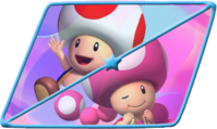 MKDB ToadToadette Icon